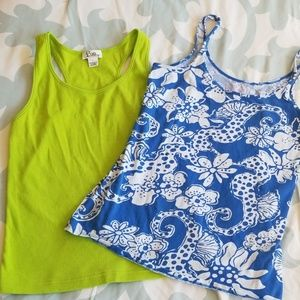 Set of 2 Lilly Pulitzer tank tops